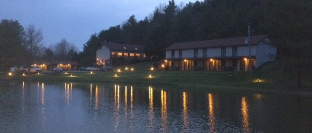 Woodberry Inn Winter Reflections